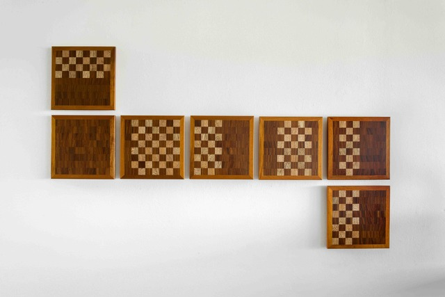, 'Art as a big chess game No. 08,' 2017, Nils Stærk