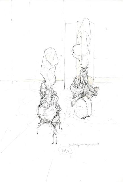 , 'gland study. new cooper nessels,' 1996, Galerie Hubert Winter