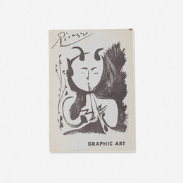 signed copy of Picaso: Graphic Art