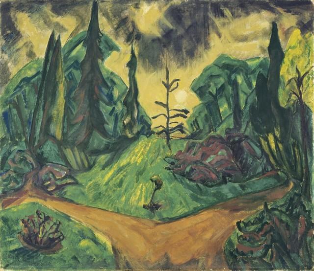 , 'Park von Dilborn 'Park of Dilborn',' 1914, Galerie Thomas