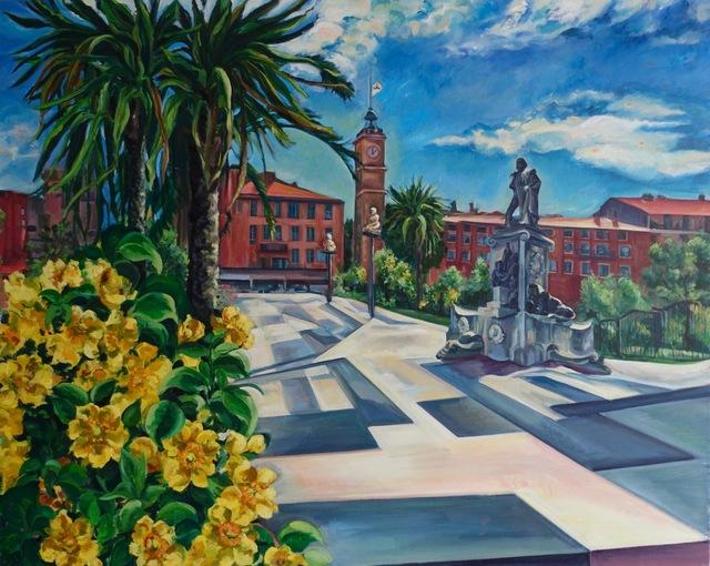 , 'Composite Square, Nice,' 2014, NoonPowell Fine Art