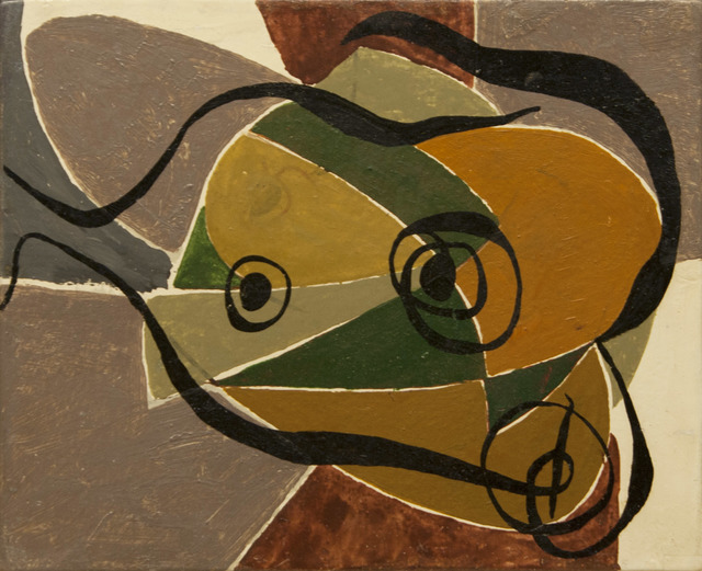 , 'Untitled (Abstraction),' ca. 1940s, Richard Norton Gallery