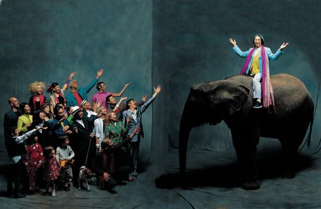 , 'Kenzo, Elephant, Paris,' 1992, Photo12 Galerie