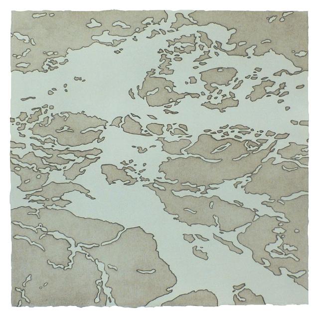 , 'Around I,' 2015, Pele Prints