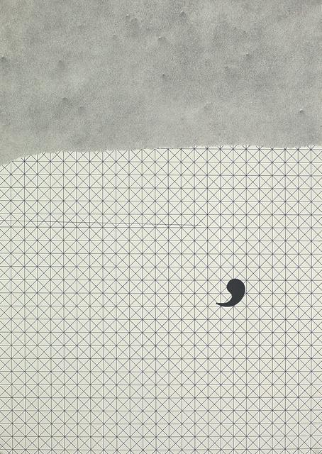 , 'Comma,' 2017, Aye Gallery