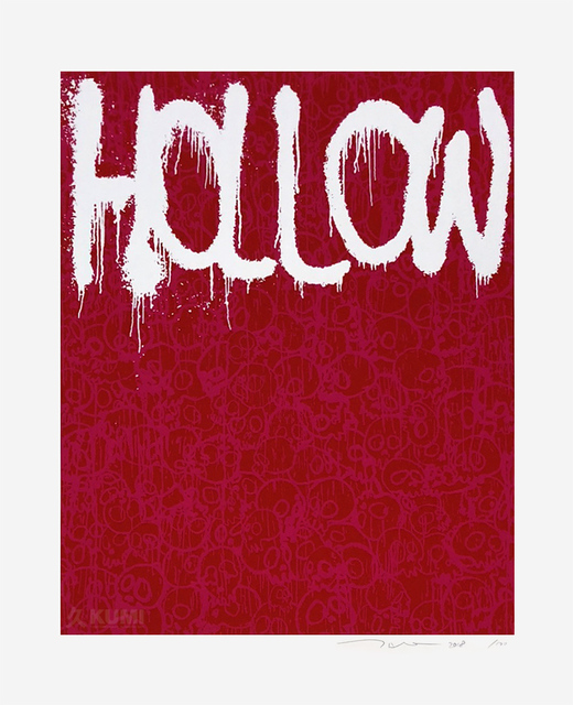 Takashi Murakami, 'Hollow Pink', 2018, Kumi Contemporary / Verso Contemporary