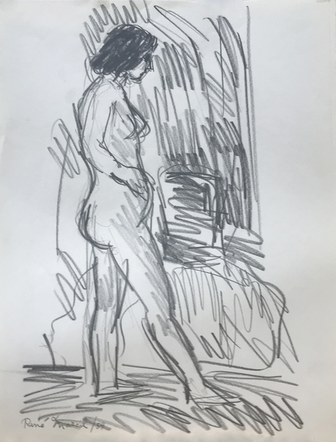 , 'Standing Nude,' 1954, Nikola Rukaj Gallery