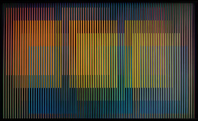 , 'Cromointerferencia Espacial 15,' 1964-2015, Marion Gallery