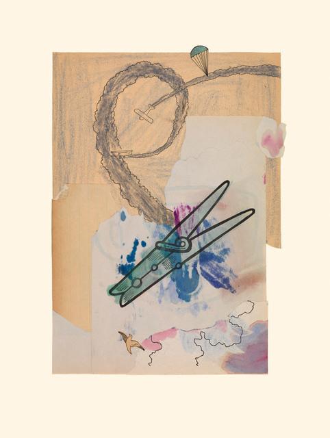 , 'Clothespin 7/19/15,' 2015, Miller Yezerski Gallery