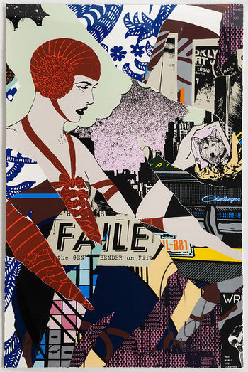 FAILE, 'Night Bender', 2015, Stowe Gallery
