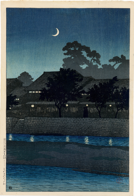 , 'Nagare Pleasure Quarter, Kanazawa,' 1920, Egenolf Gallery Japanese Prints & Drawing