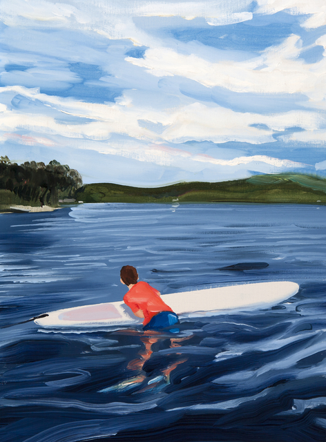 , 'Paddle Boarding and Clouds,' 2018, Dowling Walsh