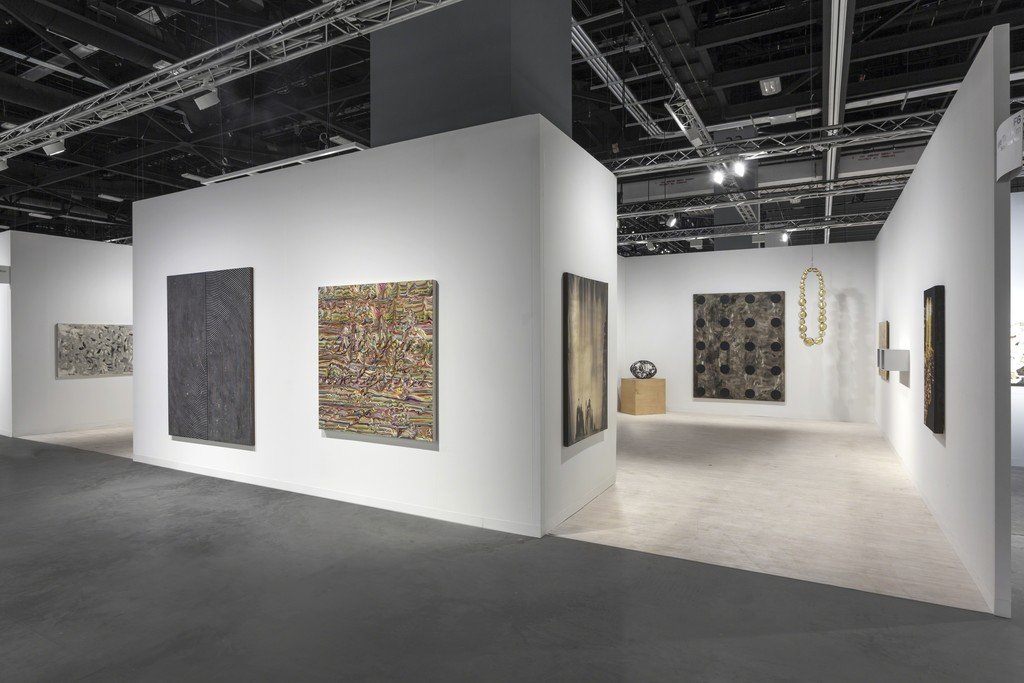 Kukje Gallery / Tina Kim Gallery at Art Basel Miami Beach booth F6. Photo by Sebastiano Pellion di Persano.