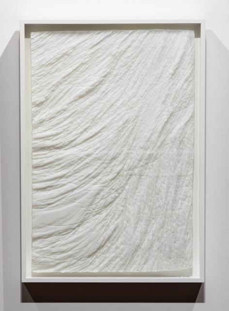 , 'Muffles (03, white),' 2017, Bullseye Projects