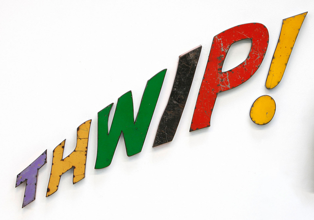 David Buckingham, 'THWIP! ', 2019, Sculpture, Metal, Caldwell Snyder Gallery