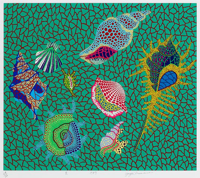 Yayoi Kusama, 'Shellfish', 1989, Shukado Gallery