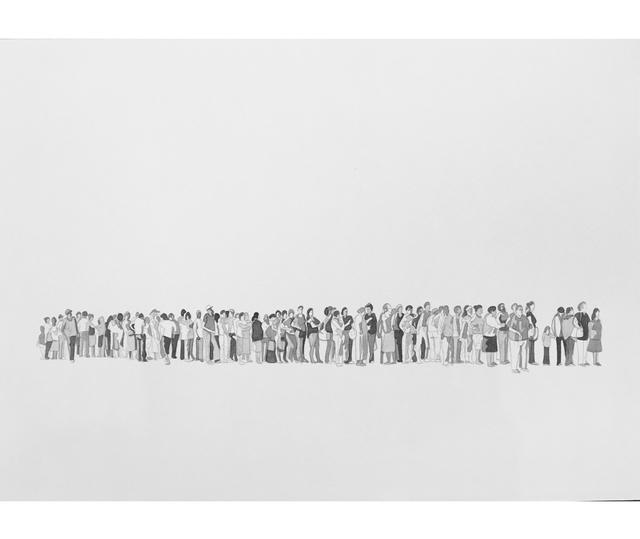 Juan José Olavarría, 'La cola V', 2018, Herlitzka + Faria