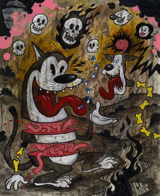 , 'Cat-Like Innards in a Doomsday Scenario,' 2018, La Luz de Jesus Gallery