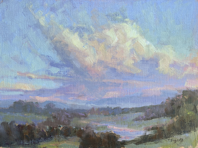 , 'Twilight Clouds,' 2019, The Galleries at Salmagundi