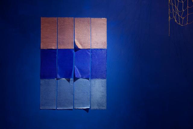 , 'Intento de geometría sensible para pared (perteneciente a la muestra No hace falta gritar),' 2015, Big Sur Galería