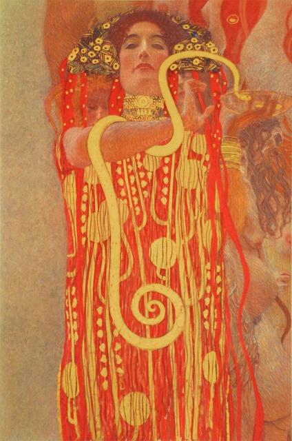 , 'Medicine (Detail: Hygieia),' 1900/07, Belvedere Museum
