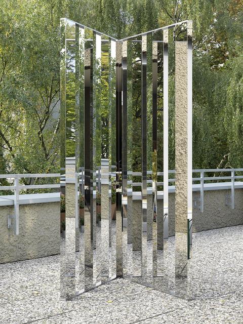 , 'Mirror Angle Fragments (60°),' 2014, KÖNIG GALERIE