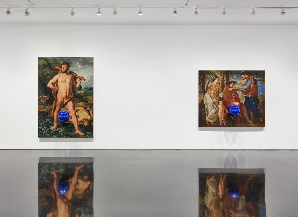 Artwork © Jeff Koons. Photo: Tom Powel. Courtesy Gagosian.