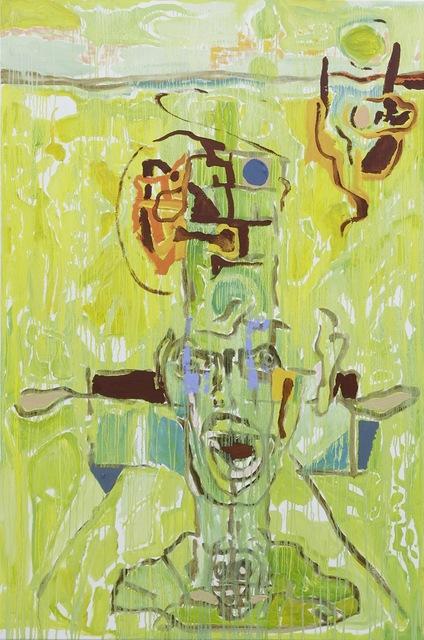 , 'Green Abstraction, 2014 (Abstracción Verde, 2014),' begun 2012-finished 2014, Clint Roenisch Gallery