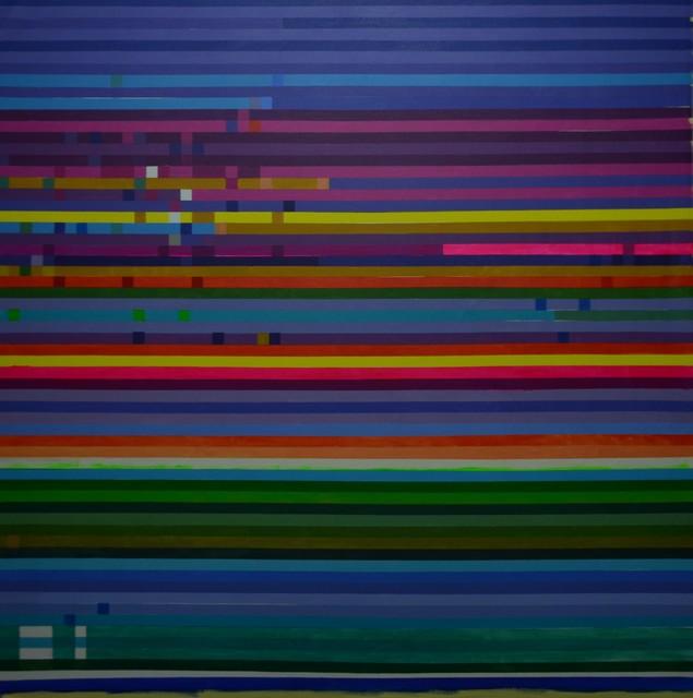 Ihosvanny Cisneros, 'Distortion, Horizontal Lines 1', 2018, MOVART