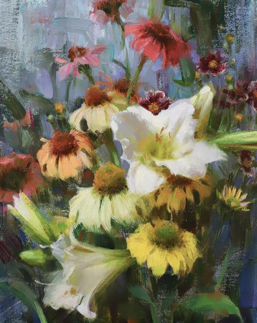 , 'Daylilies, Echinacea, & Coreopsis,' 2019, Gallery 1261