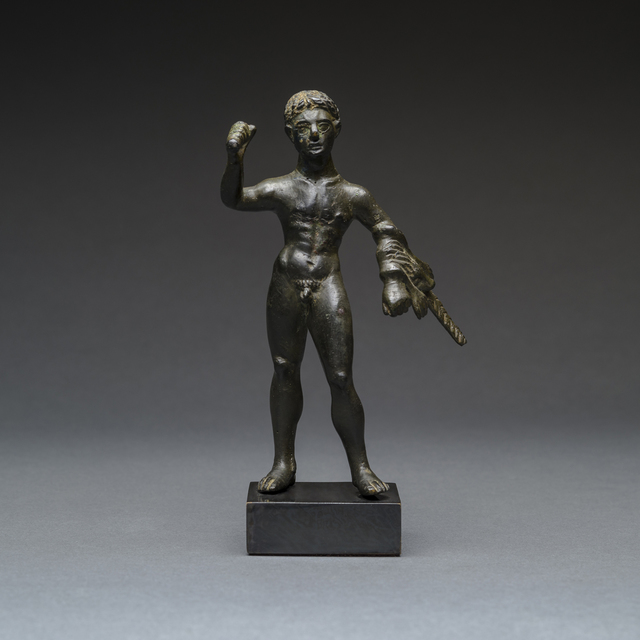 Unknown Roman, 'Etruscan Bronze Sculpture of Hercules', 300 BC to 100 BC, Barakat Gallery