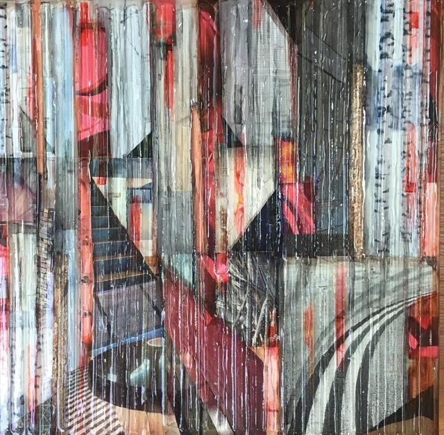 , 'Red Birch 3,' 2017, Ai Bo Gallery