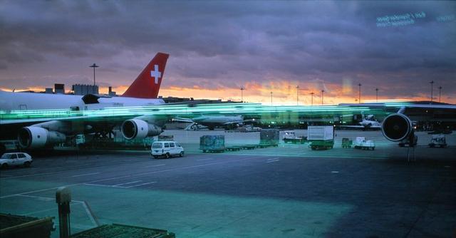 , ' Untitled, Zurich Airport 2000,' 2007, artlead