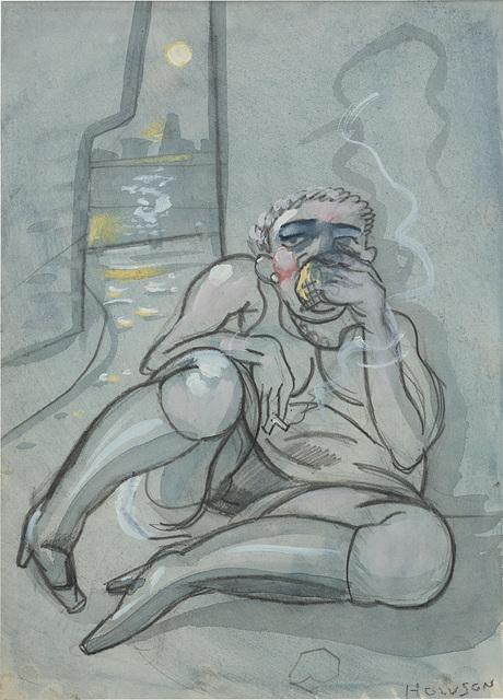 Peter Howson, 'Sobbing Girl', 1989, Phillips
