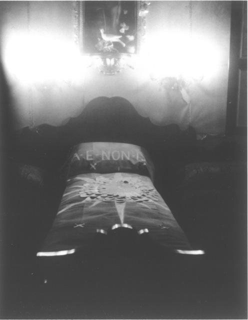 , 'Gabriele D'Annunzio's bed, Brescia,' 2015, Robert Miller Gallery