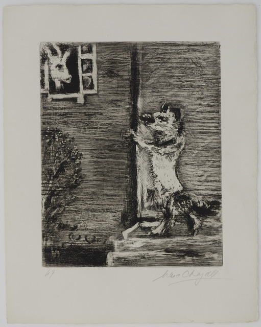 Marc Chagall, 'The Wolf, the Goat and the Kid', 1927-1930, Galerie Fetzer