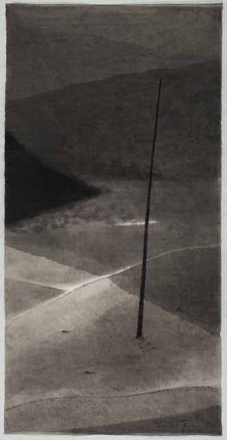 Shen Qin 沈勤, 'Telephone Pole', 2014, Painting, Ink on Paper, Amy Li Gallery