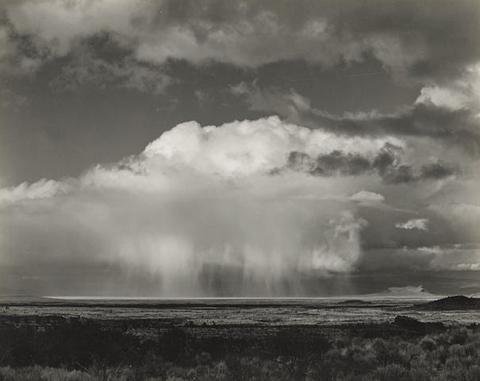 , 'Rain Over Modoc Lava Beds,' 1937, Scott Nichols Gallery