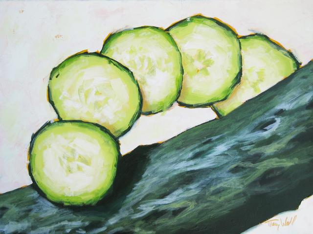 , 'Sliced Cucumber,' 2014, Abend Gallery