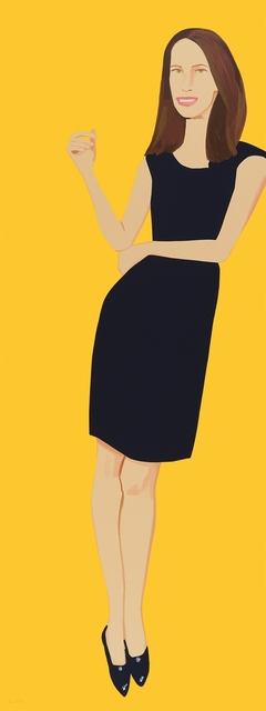 Alex Katz, 'Black Dress 9 (Christy)', 2015, Hamilton-Selway Fine Art