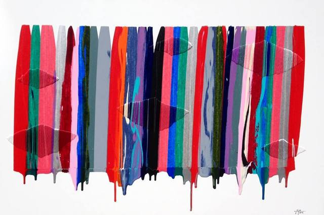 , 'Fils I Colors, CCIII ,' 2014, Michael Warren Contemporary