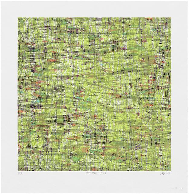 , 'Identical/Variation (green),' , Robischon Gallery