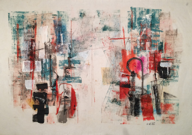 , 'Harbor Abstraction,' ca. 1955, Caldwell Gallery Hudson