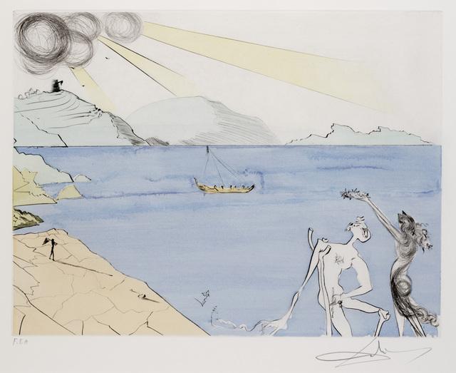 Salvador Dalí, 'Les Lauriers du Bonheur from Apres 50 Ans du Surrealisme', Dallas Museum of Art