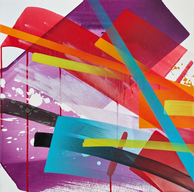 , 'Purple Rain,' 2018, KOLLY GALLERY
