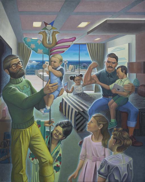 , 'Yacht Scene,' 2015, Stuart & Co. Gallery