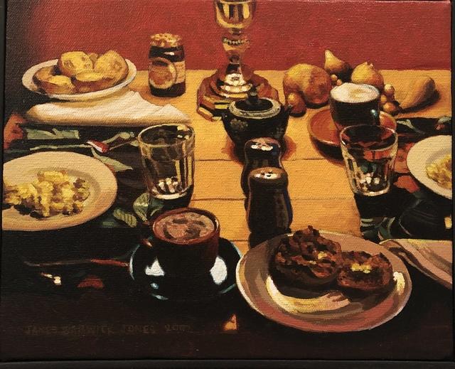 James Warwick Jones, 'Breakfast with Muffins', 2002, Linda Matney Gallery