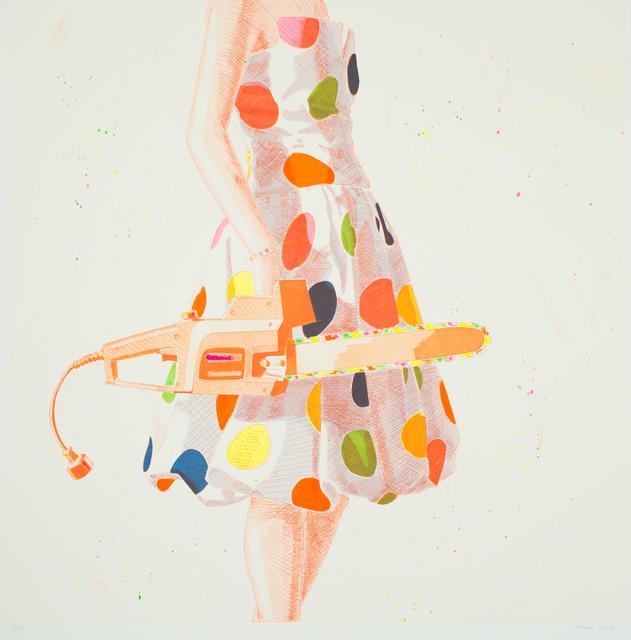 , 'Twister Sister, Orange,' 2015, David Klein Gallery