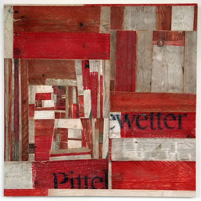 , '90 Streifen,' 2015, Christine König Galerie