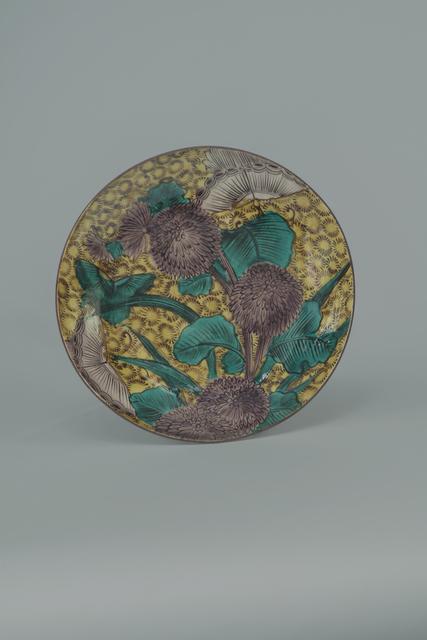 , 'Aode-Kokutani Dish with Chrysanthemum and Butterfly,' ca. 1650, Sebastian Izzard LLC Asian Art